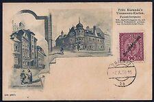 AUSTRIA 1920 Sc 194 TIED WIEN ON POST CARD