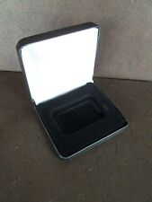 1 Black LSB display case for 1oz direct fit bar capsule (capsule not included)