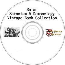 Demonology & Satan Vintage Book Collection on CD - Demons, Lucifer, Devil