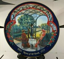 ROSES OF THE SOUTH by MARCA AMERICA 1980 LIMITED EDITION PORCELAIN PLATE