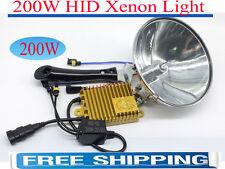 "200W 7 inch 18CM HandHeld HID 7"" Spotlight Driving Lights Hunting Search Lamp"