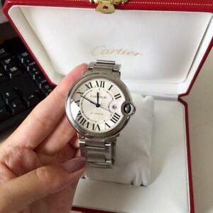 Beautiful Cartier watch Ballon bleu De Cartier Large size 42mm.