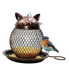 Wild Bird Feeder - Hanging Bird Feeder, Metal Mesh Wild Finch Bird Feeder for