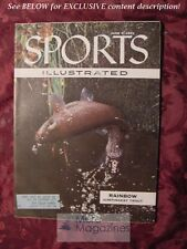 SPORTS ILLUSTRATED June 6 1955 RAINBOW TROUT SYNCHONIZED SWIMMING LEO DUROCHER