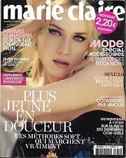 MARIE CLAIRE N°734 OCOTBRE 2013  DIANE KRUGER/ DAHO/ ACCESSOIRES/ COW-GIRLS