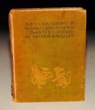Lewis Carroll Alice's Adventures in Wonderland Arthur Rackham Heinemann 1907 1st