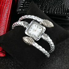 Stylish Gift Lady Women Girl Snake Style Bangle Bracelet Quartz Wrist Watch IR