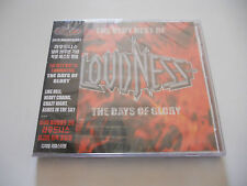 "Loudness ""The very best of the days of glory"" Warner Korea 18 Tracks W/Obi"