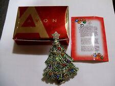 2008 Avon Collectible Christmas Tree Pin Nib