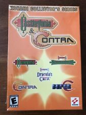 KONAMI COLLECTOR'S SERIES: CASTLEVANIA & CONTRA (PC, 2002) NEW AND SEALED