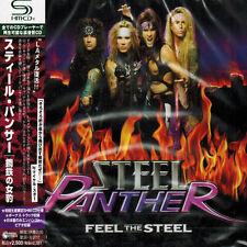 STEEL PANTHER - Feel The Steel - JAPAN SHM CD NEW OOP