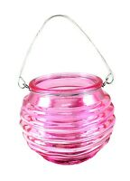 Lantern Tea Light (Pink)