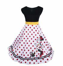 Disney Parks Minnie Mouse & Figaro Dots Dress The Dress Shop XS