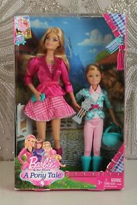 Barbie & Her Sisters In A Pony Tale - Barbie & Stacie dolls Rare 2012