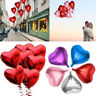 5Pc Love Heart Foil Helium Balloons Wedding Party Supplies Birthday Decoration