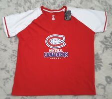 Montreal Canadiens Hockey NHL Men's V-Neck T-Shirt Size 2XL
