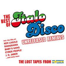 CD Best Of Italo Disco Unreleased Remixes von Various Artists 2CDs