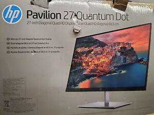 "HP Pavilion 27 Quantum Dot Monitor | 27"" Display | QHD 2560 x 1440 @ 60 Hz"