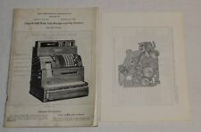 NCR National Cash Register N-2000 Wide Stub Receipt Slip Printers Booklet 1932