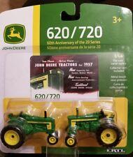 ERTL 1957 John Deere 60th Anniversary Edition Die-cast Tractors 620/720 NEW