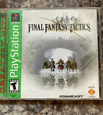 Final Fantasy Tactics (Sony PlayStation 1 Ps1) Greatest Hits - Tested