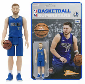 Luka Doncic (Dallas Mavericks) NBA ReAction Figure by Super7 Mint