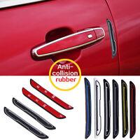 4Pcs Car Rubber Door Edge Guard Bumper Corner Protector Anti-collision Strip