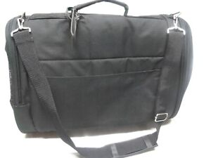 Bergan Basics Soft Travel Pet Carrier Black Nylon Mesh 18 x 10x 10