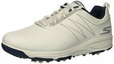 Skechers Go Golf Men's Torque Waterproof Golf Shoe White/Navy 9 W US