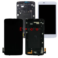 LCD Touch Screen Digitizer Assembly LG Tribute 5 K7 LS675 K330 MS330 AS330 Frame