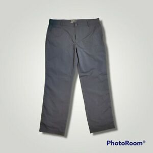 Nike Dri-fit Golf Pants Men's Size 38x32 Grey Black Mini-Check Stretch