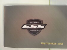 ESS Eye Safety Systems 2014 Catalog Booklet / NEW / 28 Pages