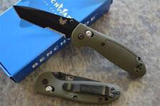 Benchmade 557SBKOD Mini Griptilian Folding Axis Lock Knife w/ 154CM Tanto Blade