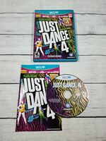 Just Dance 4 (Nintendo Wii U, 2012) Complete CIB with manual