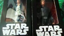 Han Solo + Luke Skywalker Star Wars Disney La guerra de las galaxias 18 cm mint
