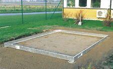 Stahlfundament für Gewächshaus Juliana Popular 106 silber