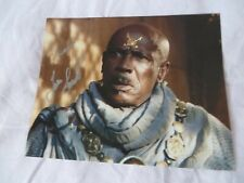 Star Gate SG1 Louis Gosset Jr autograph