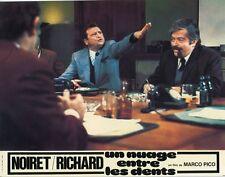 CLAUDE PIEPLU MARC DUDICOURT UN NUAGE ENTRE LES DENTS 1974 PHOTO D'EXPLOITATION