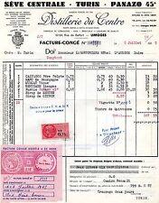 Limoges 87 - Distillerie du Centre - Vermouths Anis Spiritueux Liqueurs - 1965