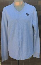 Abercrombie and Fitch Muscle Felpa Grigio Taglia Large