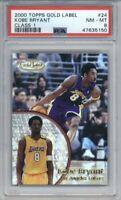 2000 Topps Gold Label Class 1 Kobe Bryant #24 PSA 8 LA Lakers Low Pop!🔥📈