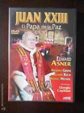 DVD JUAN XXIII EL PAPA DE LA PAZ -EDWARD ASNER, GIORGIO CAPITANI -COMO NUEVA (6C