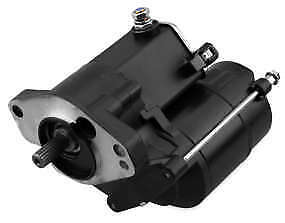 Twin Power Black 1.4kw Electric Starter Motor Harley Softail 1989-2006