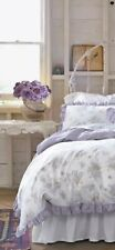 Simply Shabby Chic Lilac Duvet(only) KING Lavender Purple Ruffle