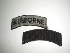 U.S. Army Airborne Tab Patch - Acu