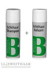Pflegeset - Spezial Shampoo & Spezial Balsam 200 ml Bergmann Echthaar Perücken