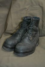 Used Canadian military combat boots size 10 1/2  Steel Toe  ( Z-48 )