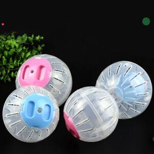 New Hamster Running Ball Pet Exercise Toy Plastic Grounder Jogging 10/12 CM