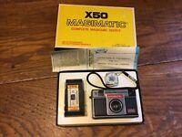 Magimatic X50 126 Film Camera Vintage Instant Load Magicube Imperial Camera NOS