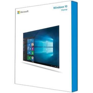 Microsoft Windows 10 Home 64 Bit System Builder OEM KW8-00140